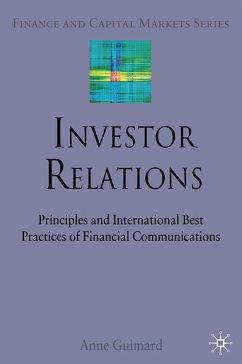 Investor Relations (eBook, PDF)