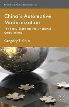 China's Automotive Modernization (eBook, PDF)