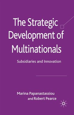 The Strategic Development of Multinationals (eBook, PDF)