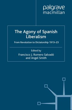 The Agony of Spanish Liberalism (eBook, PDF)