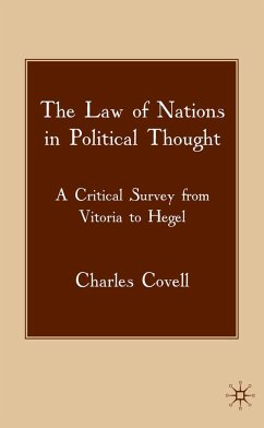 The Law of Nations in Political Thought (eBook, PDF)
