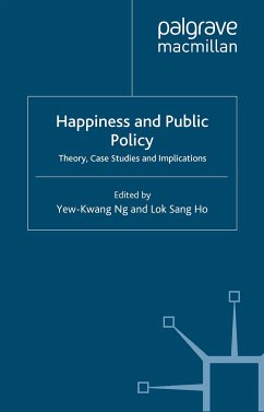 Happiness and Public Policy (eBook, PDF)