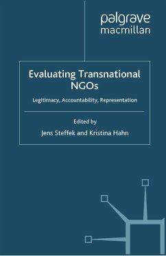 Evaluating Transnational NGOs (eBook, PDF)