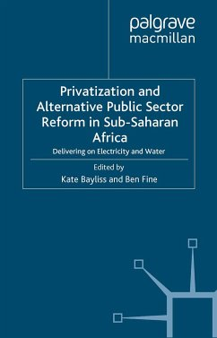 Privatization and Alternative Public Sector Reform in Sub-Saharan Africa (eBook, PDF)