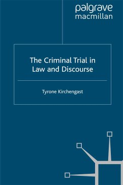 The Criminal Trial in Law and Discourse (eBook, PDF)