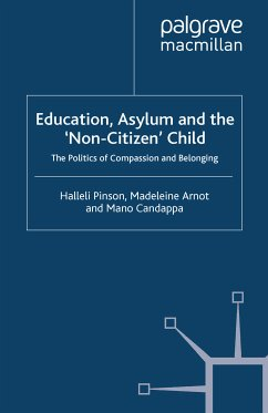 Education, Asylum and the 'Non-Citizen' Child (eBook, PDF)