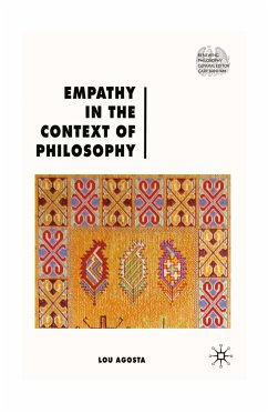 Empathy in the Context of Philosophy (eBook, PDF)
