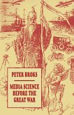 Media Science before the Great War (eBook, PDF)
