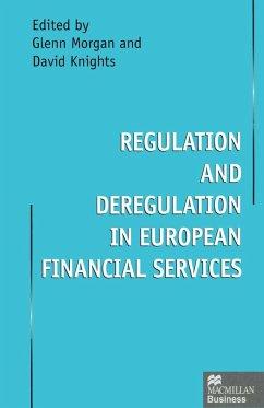 Regulation and Deregulation in European Financial Services (eBook, PDF)