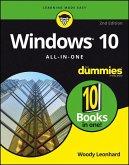 Windows 10 All-In-One For Dummies (eBook, ePUB)