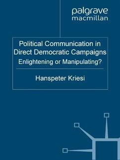 Political Communication in Direct Democratic Campaigns (eBook, PDF)