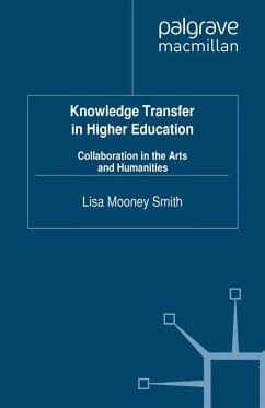 Knowledge Transfer in Higher Education (eBook, PDF)