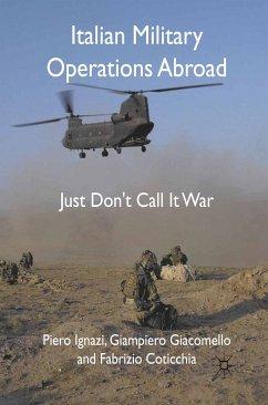 Italian Military Operations Abroad (eBook, PDF)