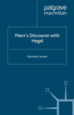 Marx's Discourse with Hegel (eBook, PDF)