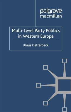 Multi-Level Party Politics in Western Europe (eBook, PDF)