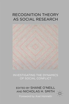 Recognition Theory as Social Research (eBook, PDF)
