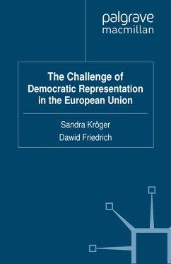 The Challenge of Democratic Representation in the European Union (eBook, PDF)