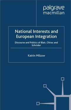 National Interests and European Integration (eBook, PDF)