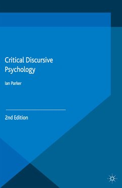 Critical Discursive Psychology (eBook, PDF)