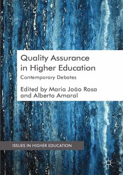 Quality Assurance in Higher Education (eBook, PDF)