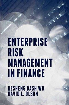 Enterprise Risk Management in Finance (eBook, PDF)