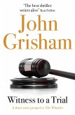 Witness to a Trial: A Short Story Prequel to The Whistler (eBook, ePUB)