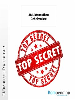 38 Listenaufbau-Geheimnisse (eBook, ePUB) - Albrecht, Ulrike
