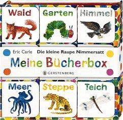 Die kleine Raupe Nimmersatt - Meine Bücherbox - Carle, Eric