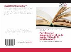 Fertilización órganomineral en la producción de la habilla negra