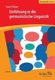 Einführung in die germanistische Linguistik (eBook, ePUB)