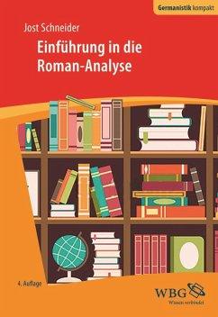 Einführung in die Roman-Analyse (eBook, PDF) - Schneider, Jost
