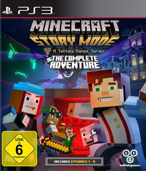 Minecraft Story Mode The Complete Adventure PlayStation - Minecraft ds spiele