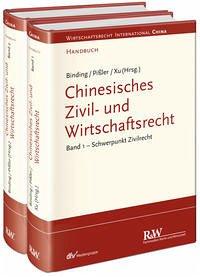 Chinesisches Zivil- und Wirtschaftsrecht. 2 Bände