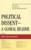 Political Dissent: A Global Reader (eBook, ePUB)