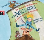 Die unglaublichen Abenteuer von Melly Jones auf dem magischen Piratenschiff / Melly Jones Bd.1 (4 Audio-CDs) (Mängelexemplar)