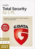 G Data Software Total Security 2017 (1 PC/1 Jahr)