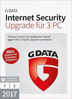 G Data Software Internet Security 2017 Upgrade ...