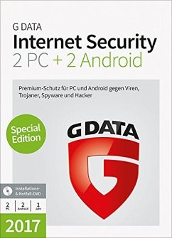 G Data Software Internet Security 2017 (2 PC+2 ...