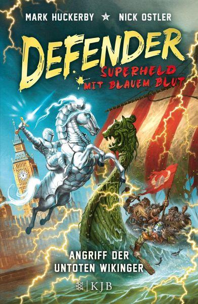Buch-Reihe Defender - Superheld mit blauem Blut