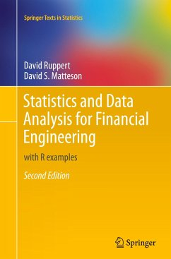 Statistics and Data Analysis for Financial Engineering - Ruppert, David; Matteson, David S.