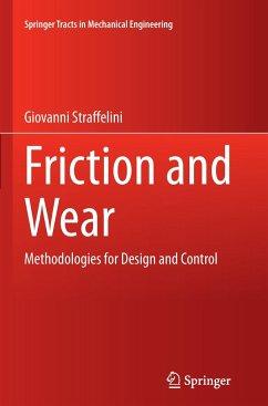 Friction and Wear - Straffelini, Giovanni