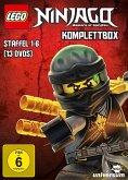 Lego Ninjago Komplettbox - Staffel 1-6 (13 Discs)