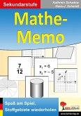 Mathe-Memo (eBook, PDF)