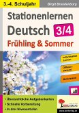 Stationenlernen Deutsch / Frühling & Sommer - Klasse 3/4 (eBook, PDF)