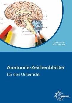 Anatomie-Zeichenblätter für den Unterricht - Bardl, Sylvana