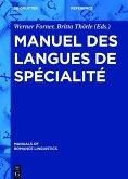 Manuel des langues de spécialité (eBook, ePUB)