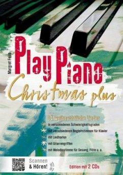 Play Piano Christmas Plus, m. 2 Audio-CDs