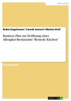 Business Plan zur Eröffnung eines Allergiker-Restaurants