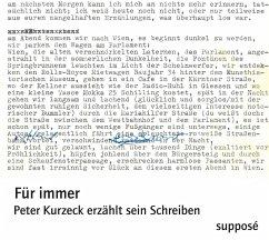 Für immer, 1 Audio-CD - Kurzeck, Peter