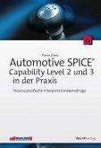 Automotive SPICE® - Capability Level 2 und 3 in der Praxis (eBook, PDF)